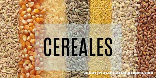 La dieta de los cereales al ritmo de los planetas.